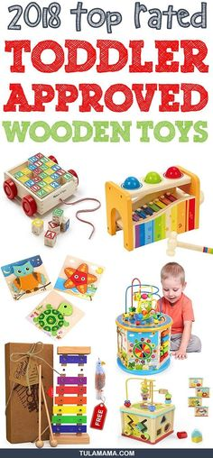 Top Rated Parent and Child Approved Wooden Toys for babies for toddlers and for preschoolers.  These educational toys are suitable for boys and for girls. Pin it. #woodentoys #educationaltoys #toddlertoys #babytoys Toddler Boy Toys, Wooden Toys For Toddlers, Wooden Baby Toys, Kids Toys, Diy Sensory Board, Baby F, Best Educational Toys, Developmental Toys, Montessori Toys