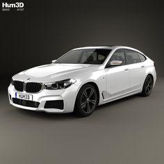 BMW M6 (G32) Gran Turismo Sport 2017 3d model from Hum3d.com.