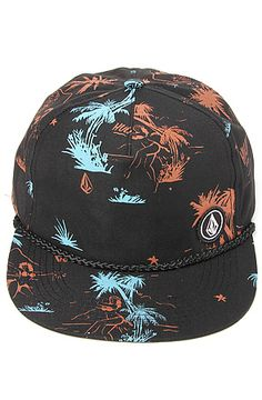The Volcom Hat Mixed Adjustable in Tinted Black