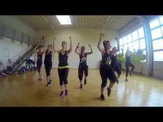 ▶ Natalie Jurado (Zumba Crew) No naci pa perder (Mega Mix 39) - YouTube