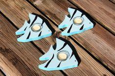 Handmade Angel Fish Tea Light Holders Beach by millcreekcrafts