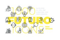 Futuro Line Icons by Bloomua on @creativemarket