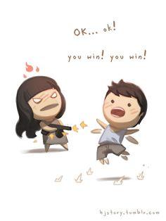 Amar é … Ok vc ganhou