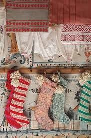 Image result for anthropologie christmas stockings