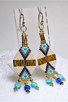 Southwestern Native American Inspired Jewelry This earrings feature beautiful complimentary color combinations that are highly desirable