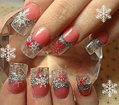 Christmas nails- #nailart