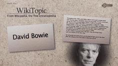 David Bowie | WikiTopic #English #Topic #HEvocabulary