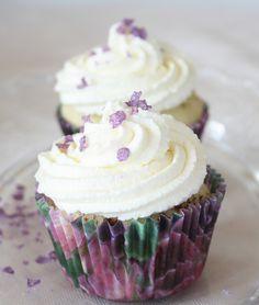 purple. Never met a cupcake I didn't like, esp with little purple sprinkles on top!