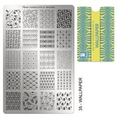 Stamping plate No:35 Wallpaper