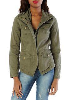 Canvas Safari Jacket - Hipster Michonne Costume