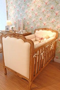 Veja decorações de quartos de bebê que fizeram sucesso com os pais em 2013 - Gravidez e Filhos - UOL Mulher #berço #papeldeparede