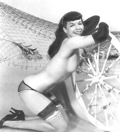 bohemea: Bettie Page Denver, Black White Photos, Black And White, Bob, Bettie Page, Madly In Love, Pin Up Art, Adults Only, Classical Music