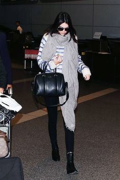 Travel in style this holiday season with major airport inspiration from these chic celebs.