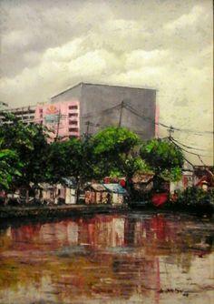 2005 JAGIR WONOKROMO SBY, by artist Niel de Quelyu (Surabaya, Indonesia) | PIN made by RomANikki
