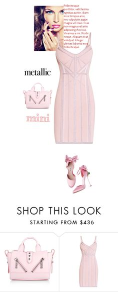 """""""Untitled #786"""" by veronica7777 ❤ liked on Polyvore featuring Kenzo and Hervé Léger"""
