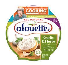 Alouette Cheese packaging for seasonal promotion cheese bin display (recipie inside)