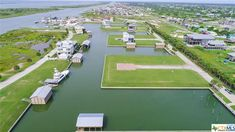 37R Cardita Drive, Port O'connor, TX 77982 | MLS#: 419680 | Port O'connor Real Estate Waterfront Property For Sale, Waterfront Homes, Land For Sale, Coastal Living, West Coast, Golf Courses, Texas, Real Estate, Real Estates