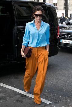 Victoria Beckham's Ode To Colour   British Vogue