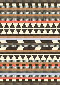 DG Aztec No.1  by Dawn Gardner via http://society6.com