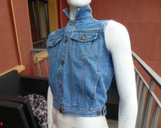 Harald gloockler jeansjacke mit nieten
