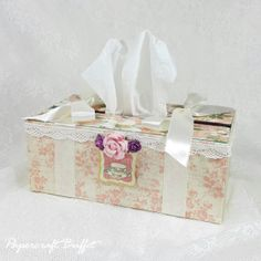Tissue Box - Graphic 45 - Belly Lau - Papercraft Buffet - Workshop