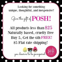 Everything from Perfectly Posh makes a great gift for anyone!! We have something for everyone no matter what your skin type or budget. Go to my website erinsettles.po.sh to order!