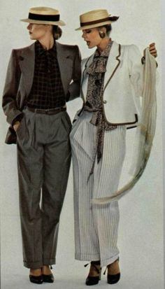 1978 Yves Saint Laurent - for the trousers