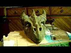 How To Make a Dragon Puppet - YouTube