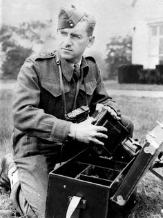 6 FEBRUARY 1944 - ANZIO, ITALY On this day, 70 years ago, Cdn Film & Photo Unit photographer Terry Rowe, of Winnipeg, was killed. His camera team gathered outside their billets when a German 88mm shell landed nearby. Rowe was killed instantly, while Lt Colin McDougall & the driver, Dave King of Burlington ON, were seriously wounded. PHOTO: Lt. Terry Faulkner Rowe, Cdn Film and Photo Unit, No. 1 Canadian Public Relations Group, Canadian Military Headquarters. Buried at Anzio War Cemetery…