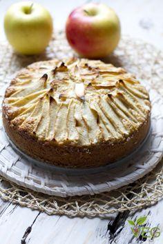 Vegan Applepie - torta di mele Vegan - lacucinavegetariana.it