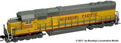 Atlas N Scale EMD SD-50 Diesel Locomotives at BLW.