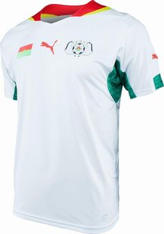 Burkina Faso (Fédération Burkinabé de Foot-Ball) - 2014/2015 Puma Home Shirt