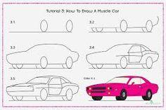 "Képtalálat a következőre: ""how to draw cars step by step"""