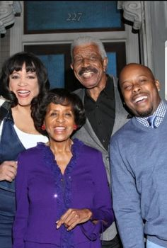 Cast of 227.  Marla Gibb, Curtis Baldwin, Jackee Harry and Hal Williams. African American Actors, African Americans, Black Celebrities, Celebs, Marla Gibbs, Black Tv Series, Famous Black People, Black Actresses, Black Love Art