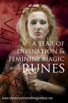 Course Title:A Year of Divination and Feminine Magic with Runes Format:Self Study – Join anytime Guides/Instructors:Renee Starr Investment:$45 Registration: on Mystery School of the God…