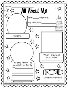No Prep Back to School math and literacy printables for first grade. Common Core Aligned! $