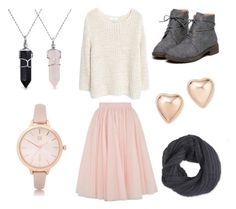 """""""Untitled #8"""" by madysandberg on Polyvore featuring Ted Baker, MANGO, Bloomingdale's, Frenchi, Bling Jewelry and River Island"""