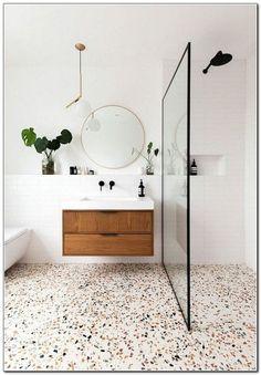 Home Decoration Ideas Interior Design .Home Decoration Ideas Interior Design Beautiful Bathrooms, Modern Bathroom, Small Bathroom, Remodled Bathrooms, Colorful Bathroom, Master Bathroom, Bathroom Trends, Bathroom Ideas, Remodeling Mobile Homes