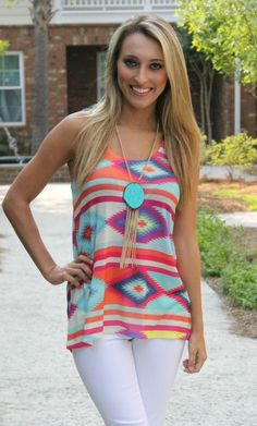 Rolling Rack Boutique  - Hey Girl Hey Tank , $32.50 (http://www.rollingrackboutique.com/hey-girl-hey-tank/)