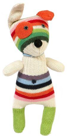 Anne-Calire Petit New Small Dog - Multicolored Stripes