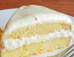 INGREDIENTS: 2 cups all-purpose flour teaspoon baking powder ¼ teaspoon salt 2 large eggs, at room temperature 1 cup sugar 1 cup buttermilk ½ teaspoon vanilla extract Zest of one orange (just a little over 1 tablespoon) ¼ cup butter, melted and cooled Cake Recipes, Dessert Recipes, Desserts, Frosting Recipes, Susan Recipe, Cream Cheese Frosting, Let Them Eat Cake, Cupcake Cakes, Cupcakes