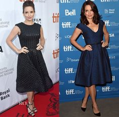 Tina Fey In Christian Siriano & Temperley London – 'This Is Where I Leave You' Toronto Film Festival Premiere & Press Conference