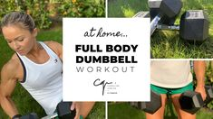 Full Body DUMBBELL WORKOUT at Home   Quick and Effective