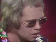 """Elton John.  """"Tiny Dancer.""""  I remember running through the campus of Michigan State singing this at the top of my  lungs.   Somehow, I eluded commitment to the state hospital..."""