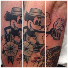 "artist: Elmer ""Fudd"" Rodriguez Orange County, California instagram: @elmerfuddtattoos american traditional tattoos"