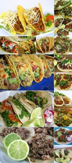I ♥ Tacos!: You can't resist. Mexico Food, Visit Mexico, Tacos, Dishes, Traditional, Canning, Ethnic Recipes, Mexican Meals, Mexican