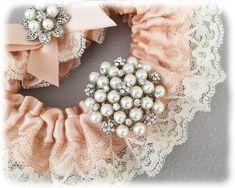 Blush Wedding Garter Set Blush Wedding Garter. Blush Bridal