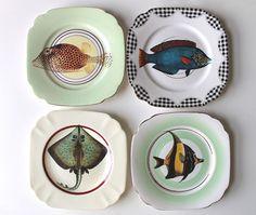 Fancy Fish plates