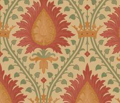 Damask 2b fabric by muhlenkott on Spoonflower - custom fabric