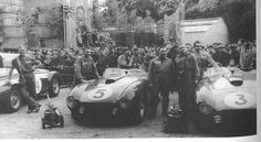 Team Ferrari Le Mans 1954